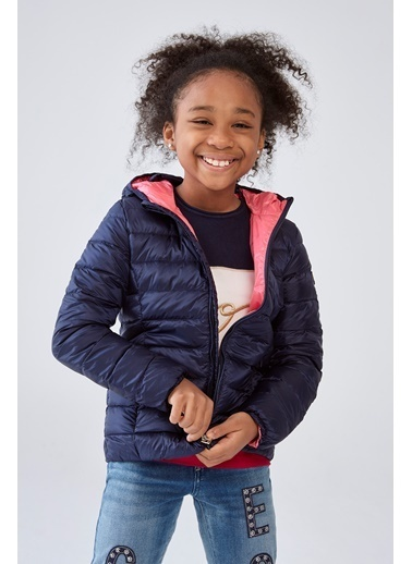 Guess Kız Çocuk Lacivert Mont,LCİ,8YAS Lacivert